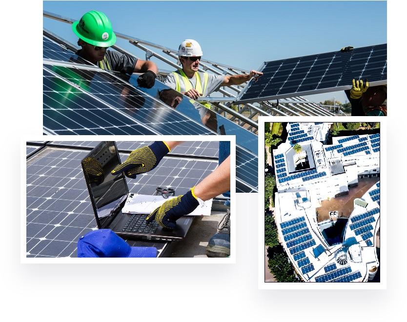 Solarex equipe